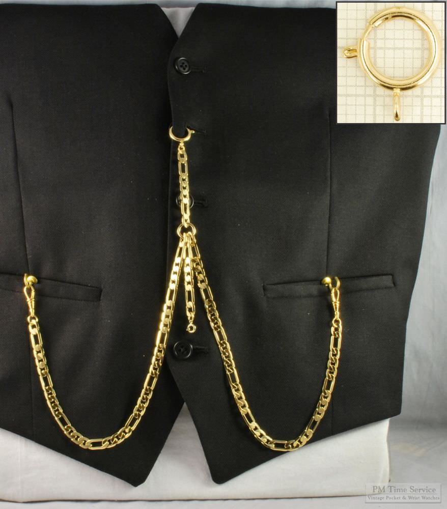 How-To-Wear-Guide-Albert-Pocket-Watch-Chains- - ebay.com